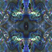 Uss Arizona Sailor Tears Kaleidocope Art Print