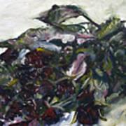 Ususena Ruze - Po Trech Kouscich A - Detail Art Print