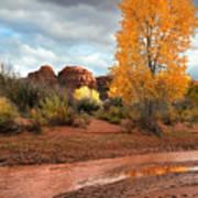 Utah Autumn Art Print