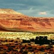 Utah Plateau Mtn M 302 Art Print
