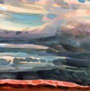 Utah Skyline Art Print