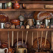 Utensils - What I Found In A Cabinet Art Print
