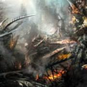 Utherworlds Ashes Art Print