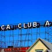 Utica Club Ale West End Brewery Art Print