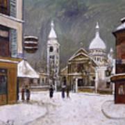 Utrillo: Montmartre, 1931 Art Print