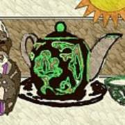Uzbek Food Art Print