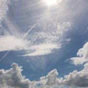 V Cloud Under The Sun  Art Print