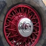 V8 Wheels Art Print