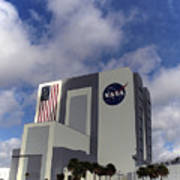 Vab At Kennedy Space Center Art Print