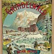 Vacation For Winter Sport Art Print