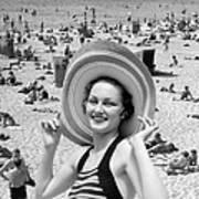 Vacation Montage, C.1930s Art Print