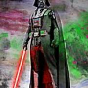Vader Abstract Art Print