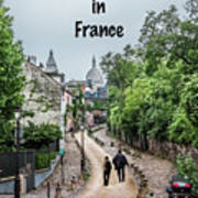 Vagabonds In France Book Cover Art Print