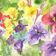 Vail Flowers Art Print