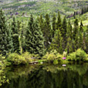 Vail Reflections In The Summer Art Print