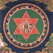 Vajravarahi Mandala Art Print
