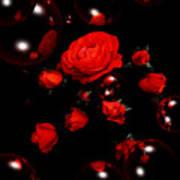 Valentine - Roses Art Print