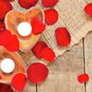 Valentine Mood Art Print
