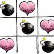 Valentine Violence Art Print