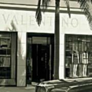 Valentino On Rodeo Drive Art Print