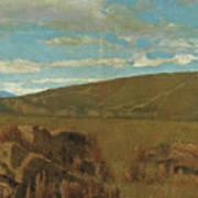 Vallata A Castiglioncello Art Print