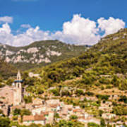 Valldemossa View From The Town Art Print