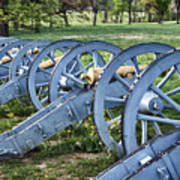 Valley Forge Artillery Park Art Print