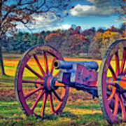 Valley Forge Canon Art Print