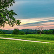 Valley Forge Sunset Art Print