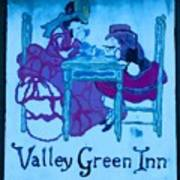 Valley Green Inn Art Print