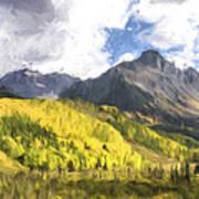 Valley Of Autumn II Art Print