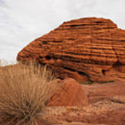 Valley Of Fire State Park Beehives Art Print