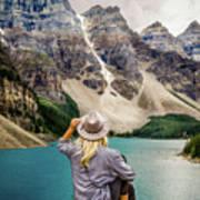 Valley Of The Ten Peaks Art Print