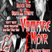 Vampire Noir Art Print