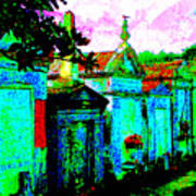 Vampire Tombs New Orleans Art Print