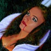 Vampiress Art Print