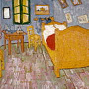 Van Gogh: Bedroom, 1888 Art Print
