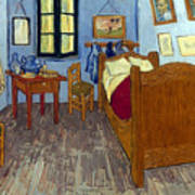 Van Gogh: Bedroom, 1889 Art Print