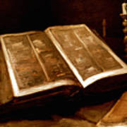 Van Gogh: Bible, 1885 Art Print