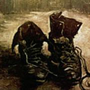 Van Gogh Boots 1886 Art Print