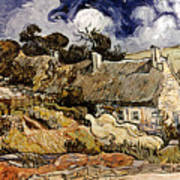 Van Gogh: Cordeville, 1890 Art Print