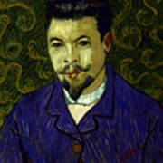Van Gogh: Dr Rey, 19th C Art Print