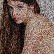 Van Gogh Eyes Art Print