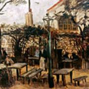 Van Gogh: Guingette, 1886 Art Print