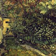 Van Gogh: Hospital, 1889 Art Print