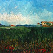 Van Gogh: Landscape, 1888 Art Print