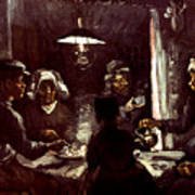 Van Gogh: Meal, 1885 Art Print