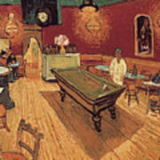 Van Gogh Night Cafe 1888 Art Print