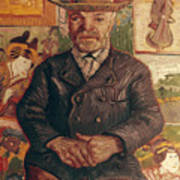 Van Gogh: Pere Tanguy, 1887 Art Print