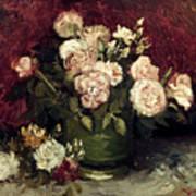 Van Gogh: Roses, 1886 Art Print